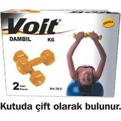 Voit DB-21 3 KG Vınly Dipping Dambıl - Thumbnail