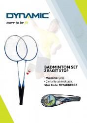 Universal - Dynamic 3 Top 2 Raket Badminton Seti - 1DYAKBR002