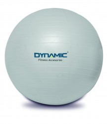 Dynamic - Dynamıc GYMBall Pilates Topu 65 cm Pompa Gri
