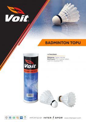 Voit Badminton Topu 6'LI - 1VTAKIZBAD