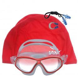 Voit - Voit Grand Yüzücü Gözlüğü_Kırmızı+Voit Bone Kırmızı