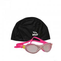 Voit - Voit Misile Yüzücü Gözlüğü_Pembe+Voit Bone Syh