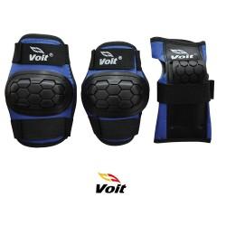 Voit PR122 Koruyucu Set Siyah Mavi (Large) - Thumbnail