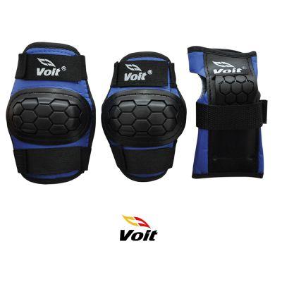 Voit PR122 Koruyucu Set Siyah Mavi (Medium)