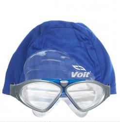 Voit - Voit Ultra Yüzücü Gözlüğü Gri-Mavi+Voit Bone Mavi