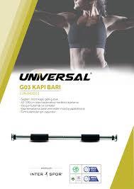 Universal Kapı Barı