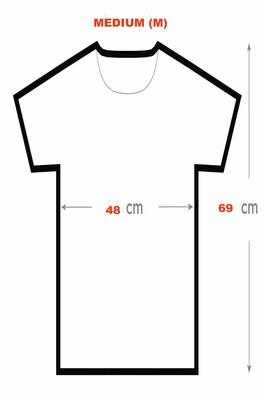 BikeStyle Tshirt Özel Tasarım Gülen Yüz -Medum -Siyah - Thumbnail
