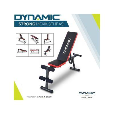 Dynamic - Dynamic Strong Çok Fonksiyonlu Ayarlanabilir Mekik, Ağırlık, Bench Sehpası