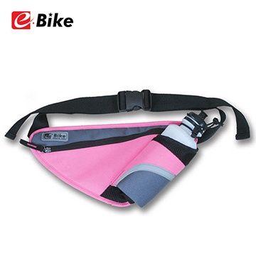Roswheel - E Bike Suluk ve Eşya Taşıyan Çok fonksiyonlu Çanta -Pembe