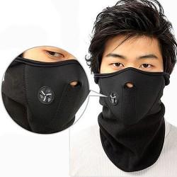 Motorcu Yüz Boyun Koruyucu Maske - Thumbnail