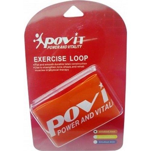 Povit - Povit Lks 85 Exercise Loop Pilates Bandı-Turuncu