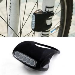 Pozitif - Pozitif Bike Silikon Su Geçirmez 5 ledli Işık