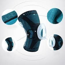 Pozitif - Pozitif Elastik Sporcu Dizliği-Siyah Mavi -1 adet
