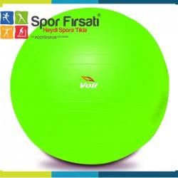 Voit 55 Cm Pilates Topu Yeşil + Pompa Hediyeli - Thumbnail