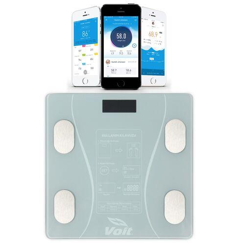 Voit - Voit BLT5000 Bluetooth Akıllı Baskül