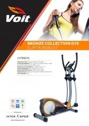 Voit D70 Bronze Collection Eliptik Bisiklet - Thumbnail