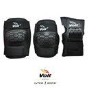 Voit PR122 Koruyucu Set/ Siyah (Large)
