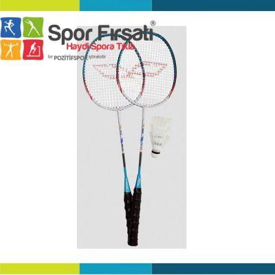 Voit - Voit Pro-504 3 Top 2 Raket Badminton Set