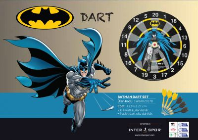 Voit - Warner Bros Batman Dart Seti
